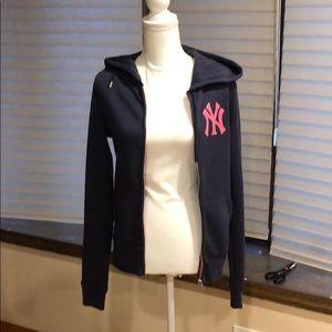 Victoria secret zip up Yankee hoodie
